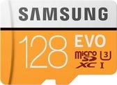 Samsung Evo Micro SD kaart 128GB - met adapter