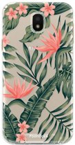 Samsung Galaxy J5 2017 - TPU Soft Case - Back Cover telefoonhoesje - Tropical Leaves