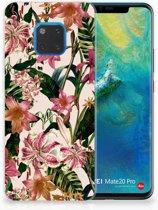 Huawei Mate 20 Pro Uniek TPU Hoesje Flowers