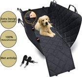 IMPAQT extra sterke auto hondendeken 100% water- en geur afstotend voor in de auto met zijflappen - Zwart