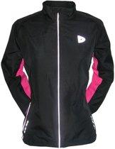 Donnay Hardloopjas - Running Jacket - Dames - Maat M - Zwart