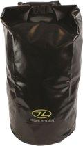 Highlander Dry bag Tri-Laminate PVC 44 liter - zwart
