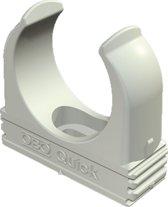 OBO kabelbuisklem Quick, kunstst, grijs, v/buisdiam 32mm, koppelbaar