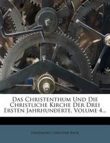 Geschichte Der Christlichen Kirche. Vierter Band.