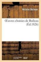 Oeuvres Choisies de Boileau