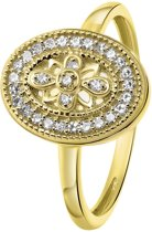 528d994a045 Diamond Luxury - 14 Karaat geelgouden ring diamant (0,07ct)