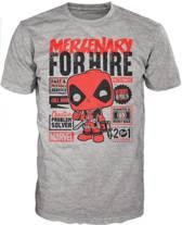 Merchandising DEADPOOL - T-Shirt POP - Mercenary for Hire (XXL)