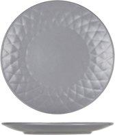 Cosy&Trendy Prisma Grey Dessertbord - Ø 20 cm - Set-6