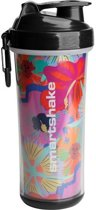 SmartShake Double Wall 750ml Flower Power