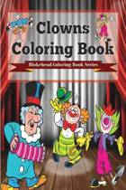 Clowns Coloring Book