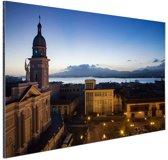 Havana in de avond  Aluminium 120x80 cm - Foto print op Aluminium (metaal wanddecoratie)
