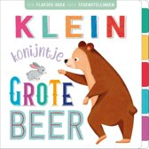 First concepts - Klein konijntje, grote beer