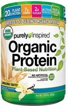 100% Plant Based Protein 680gr Vanille