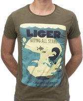 LIGER X William Dalebout - Limited Edition van 360 stuks -Duik - T-Shirt - Maat XXL
