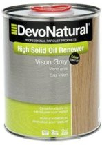 DevoNatural High Solid Oil Renewer vison grijs / Onderhoudsolie - 1 liter