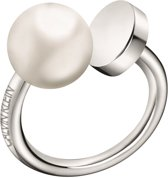 Calvin Klein Bubbly Ring  (Maat: 55) - zilver