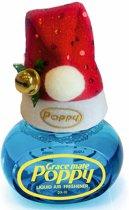 Poppy Luchtverfrisser Freesia met kerstmuts - Poppy Grace Mate - Poppy - Poppy Luchtverfrisser - Kerstmuts met Poppy - Originele kerstmuts - Vrachtwagen Accessoires - Luchtverfrisser Huis - Wonen - Boot - WC