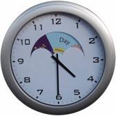 Human Protection analoog dag/nacht klok 320 mm diameter voor mensen met dementie