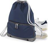 Senvi Sports Senvi Luxe Gymtas Kleur Blauw/Grijs 18 liter
