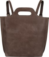 MYOMY Rugzakken My Carry Bag Back Bag Medium Taupe