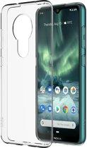 Nokia back case - transparant - voor Nokia 6.2 & 7.2