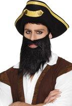 12 stuks: Baard Piraat