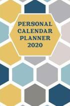 Personal Calendar Planner 2020