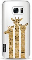 Casetastic Softcover Samsung Galaxy S7 - Sepia Giraffes