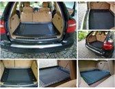 Rubber Kofferbakschaal voor Volkswagen Caddy (Life) Maxi vanaf 2008 (2 Sitzreihen)