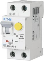 Eaton 236948 Aardlekschakelaar/zekeringautomaat 2-polig 16 A 0.03 A 240 V/AC