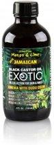 Jamaican Mango & Lime Jamaican Black Castor Oil Exotic Ximenia With Dudu Osum 118 ml