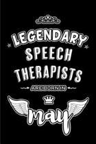 Legendary Speech Therapists are born in May