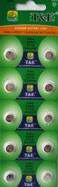 AG4 knoopcel horloge batterijen 10 stuks - 626A - 377A - C X 66 W