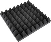 OMNITRONIC Accoustic Foam, Pyramid 100mm, 50x50cm