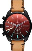 Diesel MS9 horloge  - Bruin