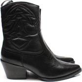 Bronx 47209B western boots - zwart, 38 / 5