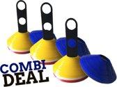 Pionnenset Combi Deal - 60 Flexibele Trainingspionnen - Ciclón Sports