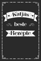 Katjas beste Rezepte: A5 Rezeptbuch zum selberschreiben personalisiert Personalisierte Geschenke Vorname Katja �bersichtliches blanko Kochbu
