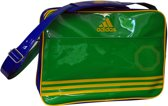 adidas Shiny - Sporttas - Groen/Blauw/Geel Large