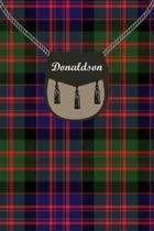 Donaldson Clan Tartan Journal/Notebook