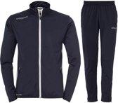 Uhlsport Essential Classic  Trainingspak - Maat L  - Mannen - blauw/wit