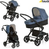 Hauck Atlantic Plus Trio Set - Kinderwagenset - Melange Jeans/Caviar
