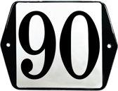 Emaille huisummer model oor - 90