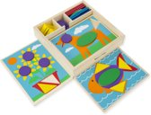 Melissa & Doug - Beginner Pattern Blocks - Spel