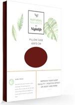 Natural Balance Kussensloop katoen - satijn Bordeaux