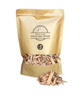 Smokey Olive Wood - Houtsnippers - 1,7L - Steeneik - Chips ø 2cm-3 cm