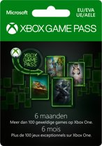 Microsoft Xbox Game Pass - 6 Maanden Abonnement - Xbox One
