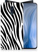 OPPO Reno TPU Hoesje Zebra