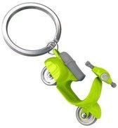 Metalmorphose sleutelhanger scooter - Kleur - Groen