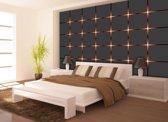 Fotobehang Design | Bruin, Grijs | 152,5x104cm